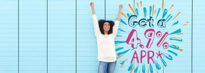 APR del 4.9% durante la vigencia del préstamo
