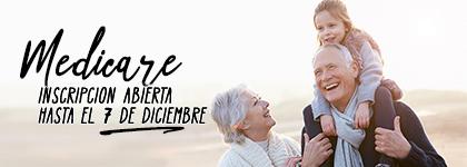 La inscripción abierta a Medicare comienza el 15 de octubre