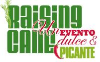 Logotipo de Raising Cane, un evento dulce y picante