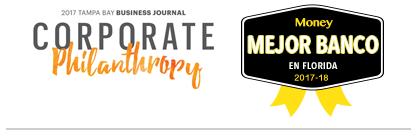 Logotipos de Best Bank y TBBJ Corporate Philantropy