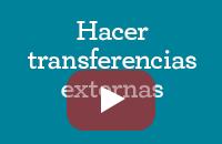 Realizar transferencias externas
